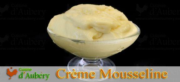 Recette de la Crème Mousseline de M.O.F Stéphane Glacier (méthode 1 : Pâtissière et Beurre en 2 fois)