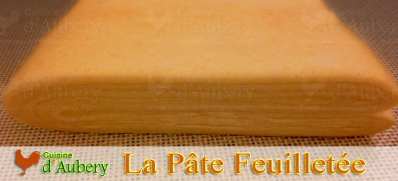 Recette de La Pâte Feuilletée (recette de M.O.F)