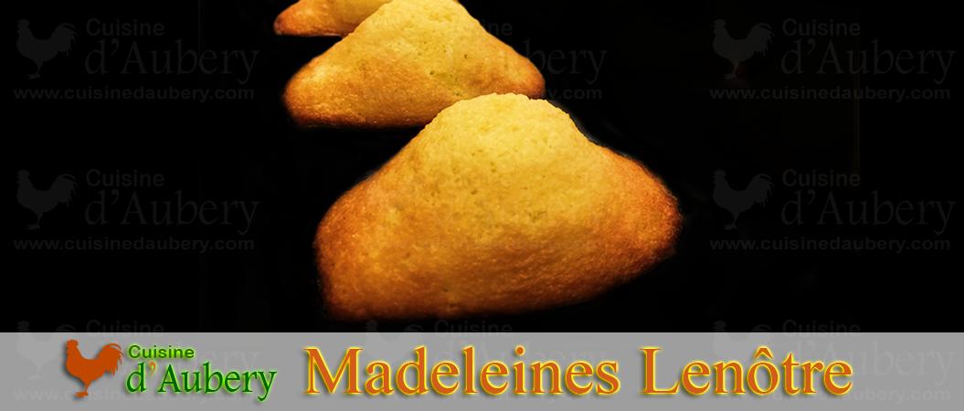 Les Madeleines de Lenôtre