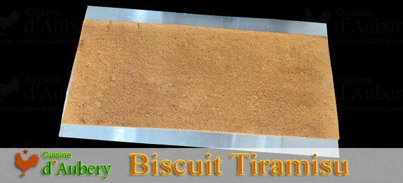 Le Biscuit à Tiramisu de Christophe Felder