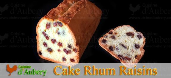 Le Cake aux Raisins au Rhum, un classique de la pause gouter qui ne deçoit jamais ! Cette recette donne tous les secrets pour que les raisins ne tombent pas au fond du moule, guaranti !