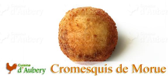 Une recette inspirée de Jean-François Piège, le Cromesquis de Brandade de Morue est un beignet de petite taille, avec une fine epaisseur croustillante qui renferme un cœur moelleux, un vrai délice servi en apéritif