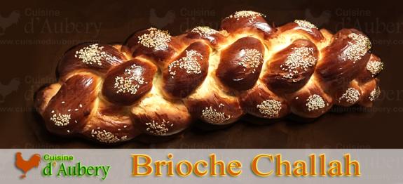 A l'origine un pain traditionnel juif, le pain Hallah, Challah ou Challad, la brioche tressée à 6 branches est un régal pour les yeux et pour les papilles