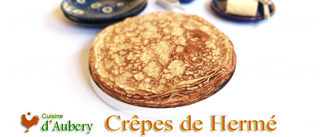 Les Crêpes Orange et Grand Marnier de Pierre Hermé