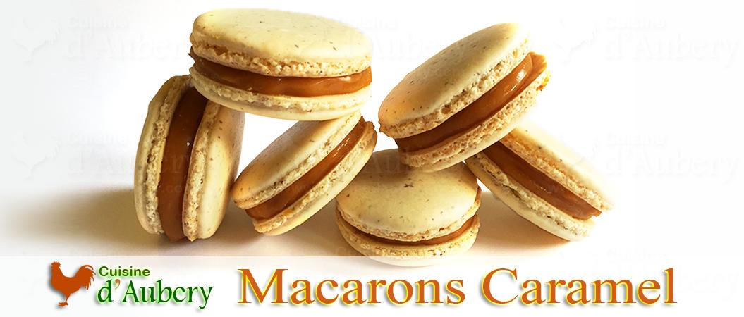 Les Macarons au Caramel Beurre Salé de Christophe Felder