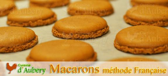 Recette du Macaron, version meringue Française (recette de M.O.F)