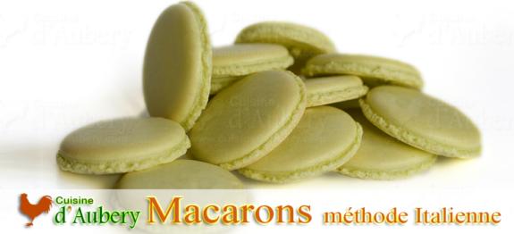 Recette du Macaron, version meringue Italienne (recette de M.O.F)