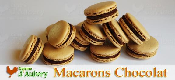 Les macarons Chocolat, un classique avec la perfection Lenôtre