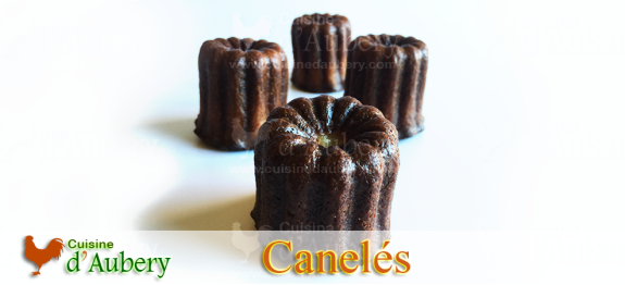 Canelé are delicious French small pastry with a soft and tender custard center and a dark, thick caramelized crust, that taste Rum and Vanilla. You can't escape them in you visit France!