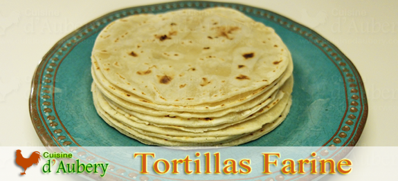 Les Tortillas Mexicaines à la Farine (Base pour Tacos)