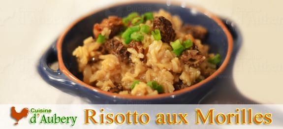 Un plat excellent originaire du nord de l'Italie servi en entrée et de plus en plus comme plat principal, le risotto aux morilles et parmesan est un riz cuit par mouillages successifs.