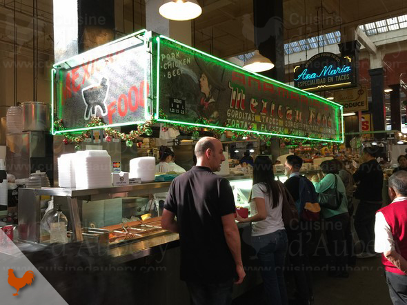 Grand Central Market, Los Angeles Downtown