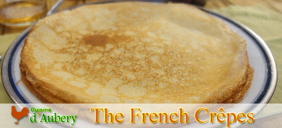 Crepes are delicious French style thin pancakes. This recipe is the closest to what you would taste in France.