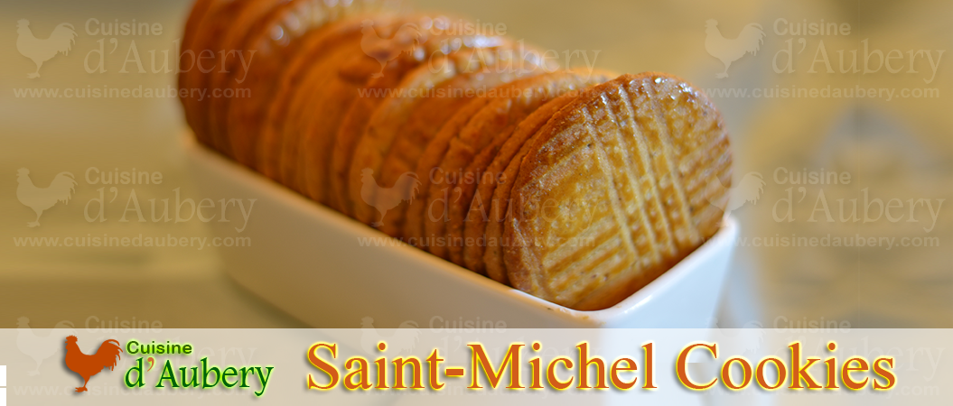 French Saint-Michel Cookies