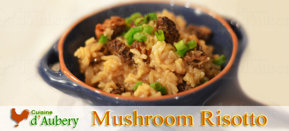 Authentic Italian-style risotto, cooked slowly, with a delicious creamy parmesan and mushroom taste.