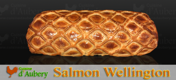 Impress guests with Salmon Lobster Wellington, this festive centrepiece is a better choice than the classic «beef wellington», ideal to celebrate a great diner with family or friends