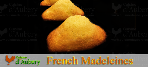 Delicious lemon flavored madeleines. This recipe guarantees a perfect shaped madeleine, fluffy and authentic French !