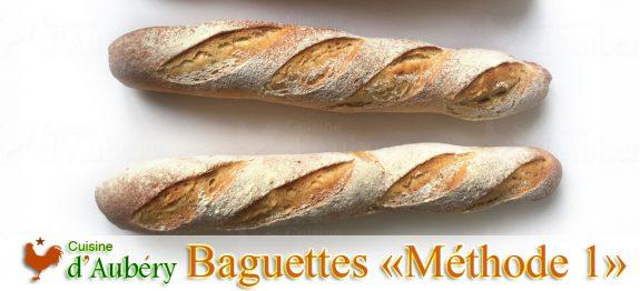 Recette des Baguettes (Méthode 1: Pâte Fermentée)