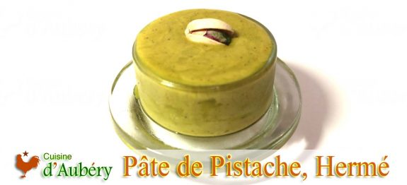 La Pâte de Pistache de Pierre Hermé
