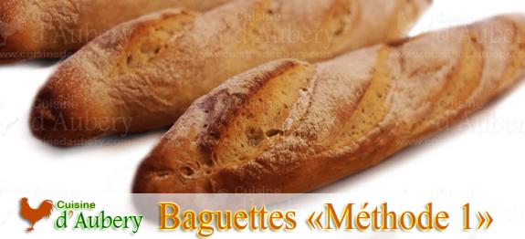 Les Baguettes (méthode 1: Frigo et Réchaud)