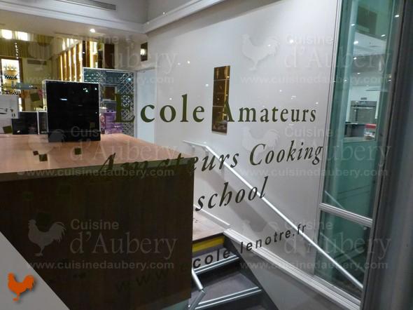 Cours de cuisine Lenôtre au Pavillon Élysée, Paris