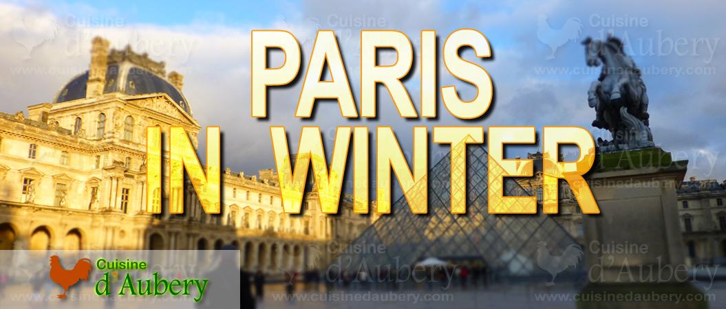 Culinary Weekend in Paris (winter)