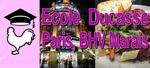Cours de Cuisine: Ducasse Paris, BHV Marais