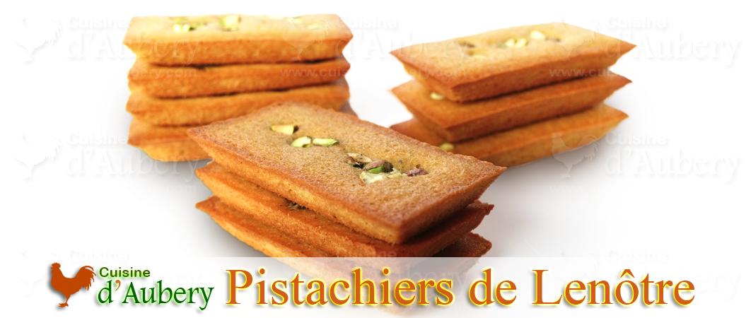 Les Financiers Pistache (Pistachiers) de Lenôtre