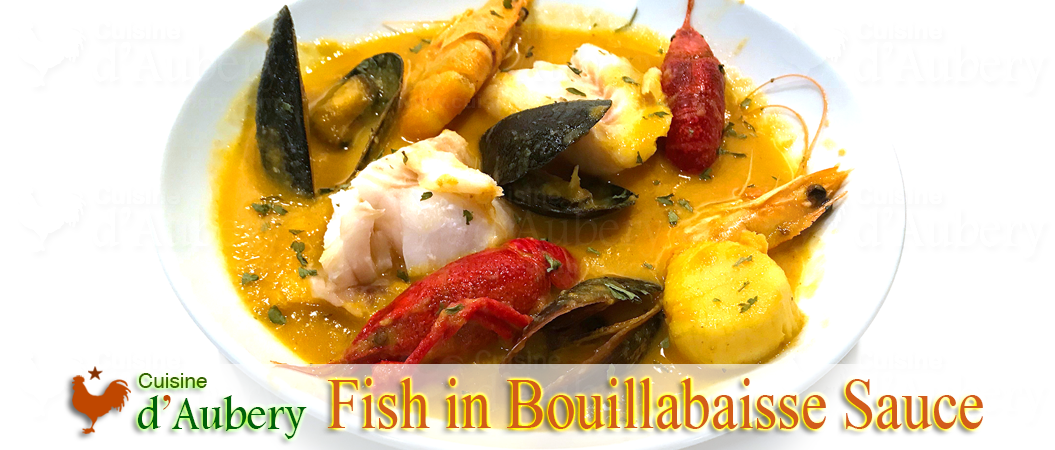 French Fish Bouillabaisse (Stew)