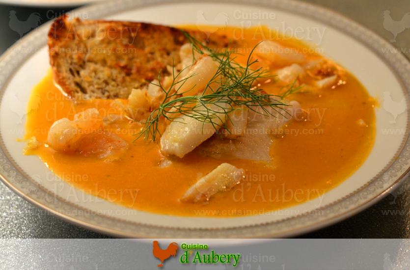 French fish bouillabaise stew cuisine d 39 aubery for French fish stew