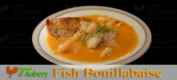 Bouillabaise is a spicy Fish stew, originally from Provence. This recipe is an excellent French gourmet dish.