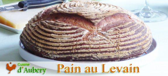 Le Pain de Campagne au Levain de M.O.F Frédéric Lalos (Méthode 2: Levain Pâteux)