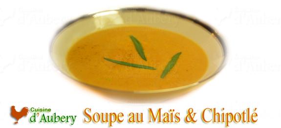 Velouté de Maïs au Chipotlé et épices
