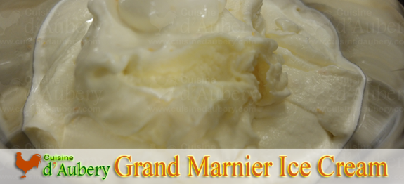 Grand Marnier Ice Cream of Stéphane Tréand