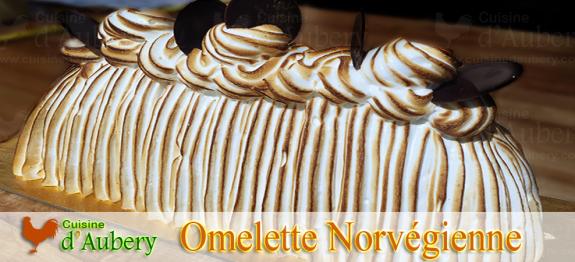 Un fabuleux dessert pour un repas gourmand, l'Omelette Norvegienne au Grand Marnier est un pur régal de crème glacée parfumée sur un pain de gênes, alliant saveurs d'oranges et d'amandes