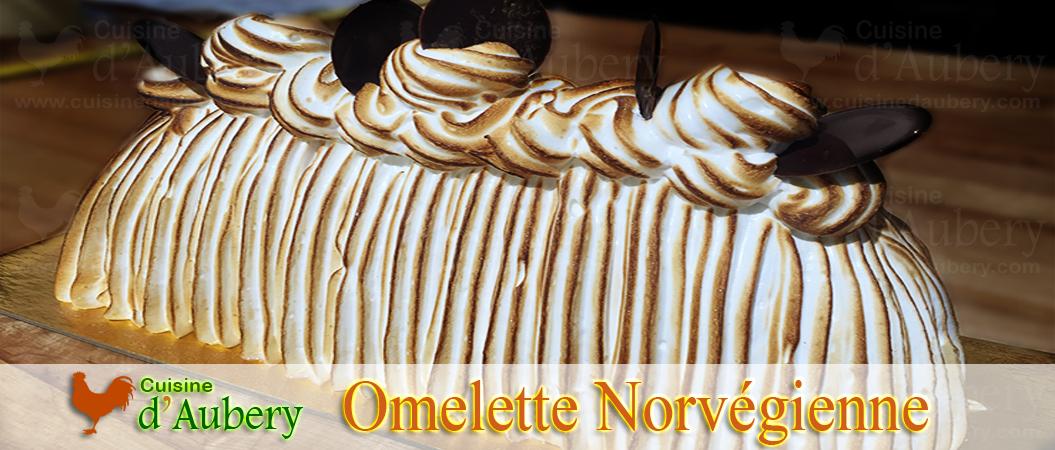 Fabuleuse Omelette Norvégienne au Grand Marnier
