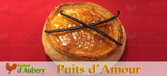 Le puits d'amour de Sébastien Gaudard, pour les amoureux de tarte feuilletée à la crème