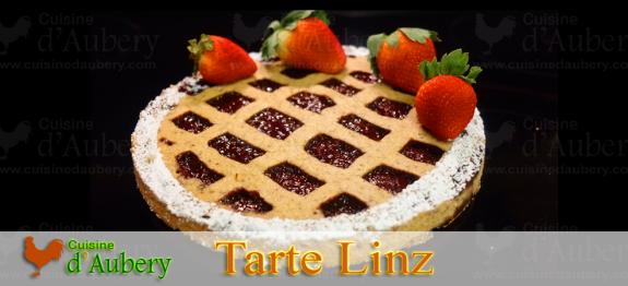 Une des plus vieilles tartes au monde, la Tarte Linz 'Linzer torte' est ici proposée par le chef Jacquy Pfeiffer pour un résultat excellent