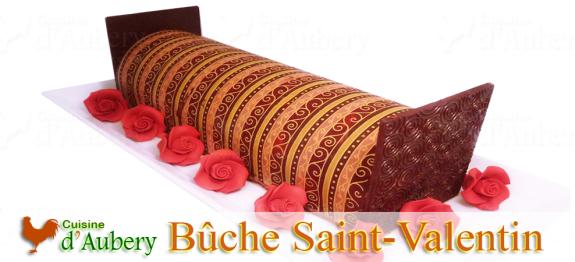Une merveille de bûche alliant chocolat et Framboise sur un pain de Gênes, entre Passion et Tendresse...