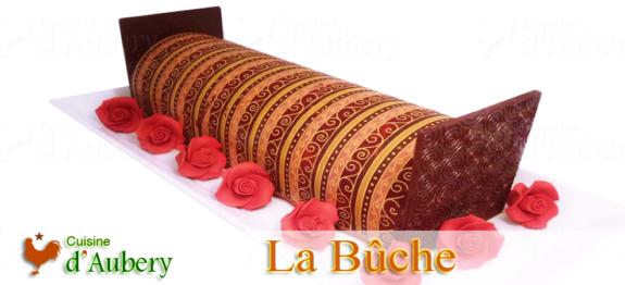 La Bûche Chocolat Framboise