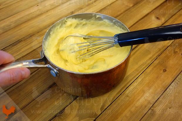 Crème Mousseline au Citron