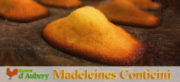 Les madeleines de Conticini, du livre 'Sensations', une pure merveille de madeleine signée Conticini