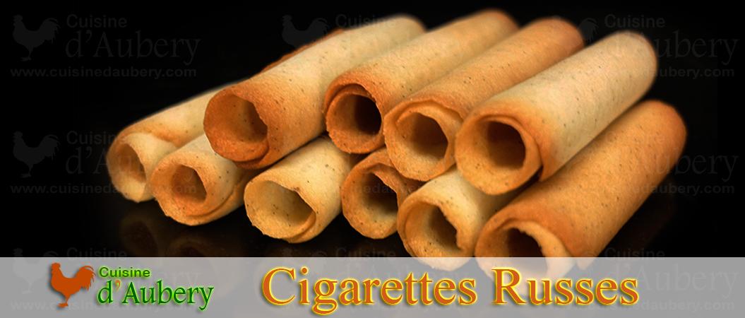 Les Cigarettes Russes «à la Delacre» de Frédéric Anton
