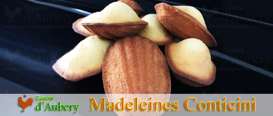 Les Madeleines au Citron de Philippe Conticini