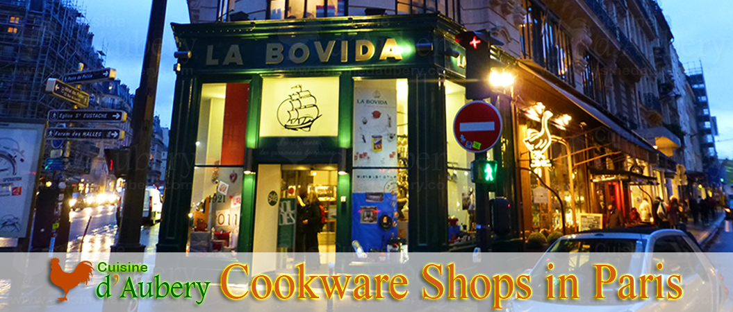 Cookware and Culinary Shops in Paris