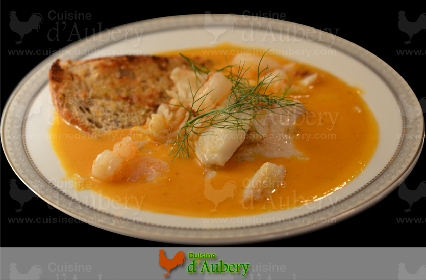 French fish bouillabaise stew for French fish stew