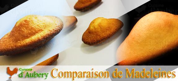 MADELEINES : J'ai testé 3 recettes (Lenôtre, Conticini, Express)
