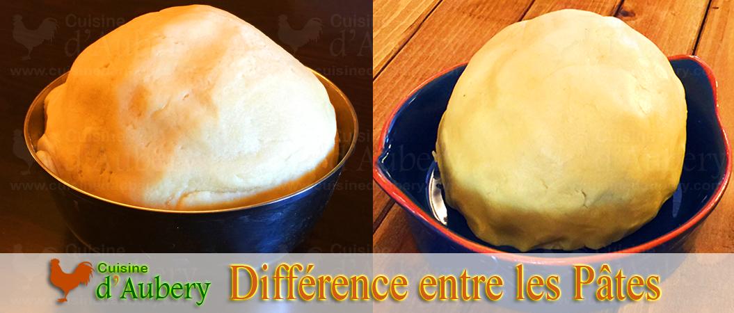 Quelle est la différence entre la Pâte Sucrée et la Pâte Sablée ?