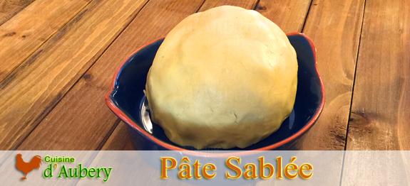 Recette de la Pâte Sablée (recette de M.O.F)