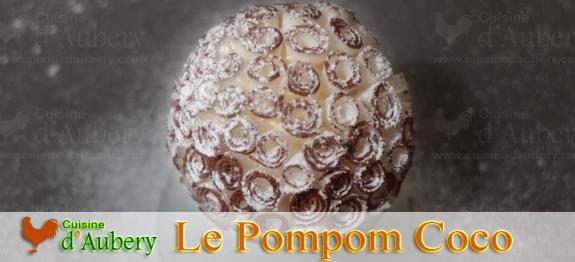 Le talentueux pâtissier de l'hôtel Meurice propose un dessert à base de noix de coco qui évoque une boule de neige lancée d'un pays exotique